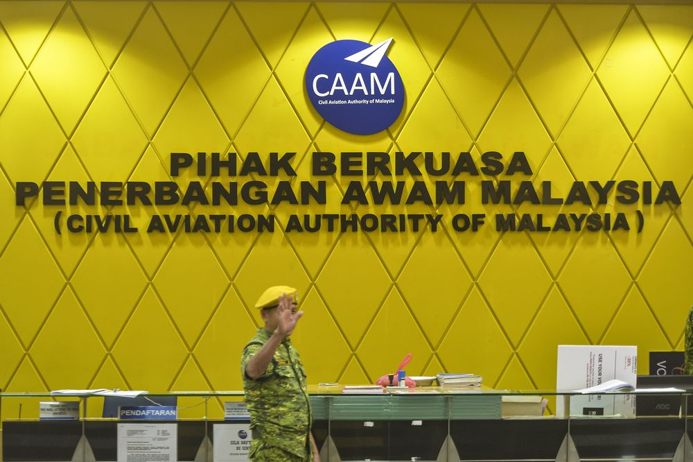 The Civil Civil Aviation Authority of Malaysia's (CAAM) office in Putrajaya, November 12, 2019. — Picture by Shafwan Zaidon