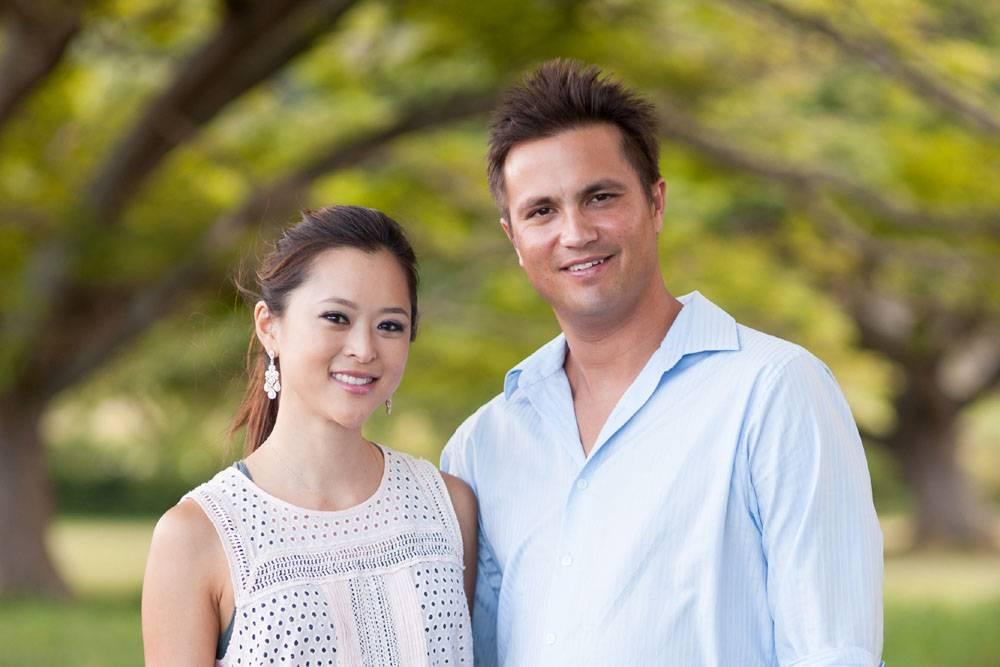Serena and Paul Berthelsen, the founders of Perk Coffee