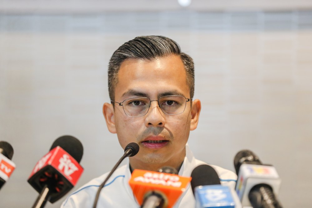 PKR communications director Fahmi Fadzil said the claims were still speculation and that police should be allowed to fully investigate the incident. ― Picture by Firdaus Latif