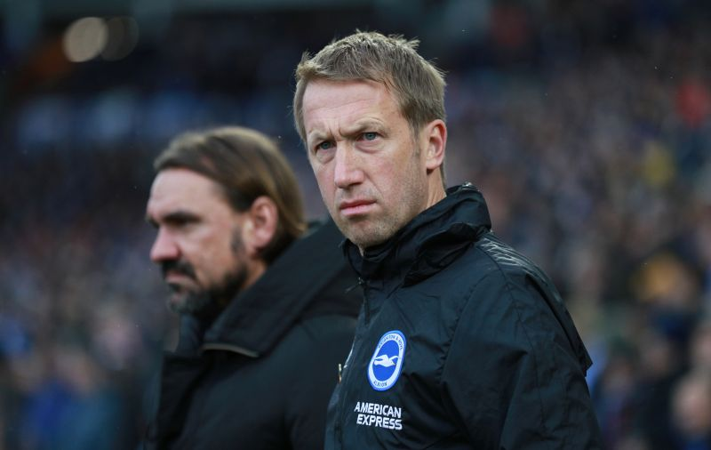 Brighton and Hove Albion manager Graham Potter said Brighton have been in high spirits throughout the season despite some poor results and they will hit the ground running against sixth-placed United, who are unbeaten in 14 matches across all competitions. — Reuters pic