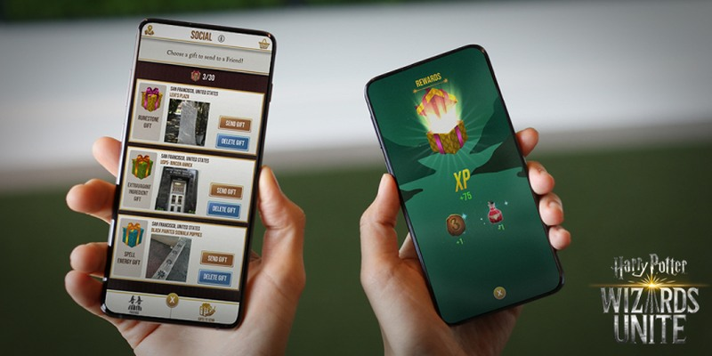 'Harry Potter: Wizards Unite' adds gifting ahead of the 2019 holiday season. ― Picture courtesy of Niantic via AFP