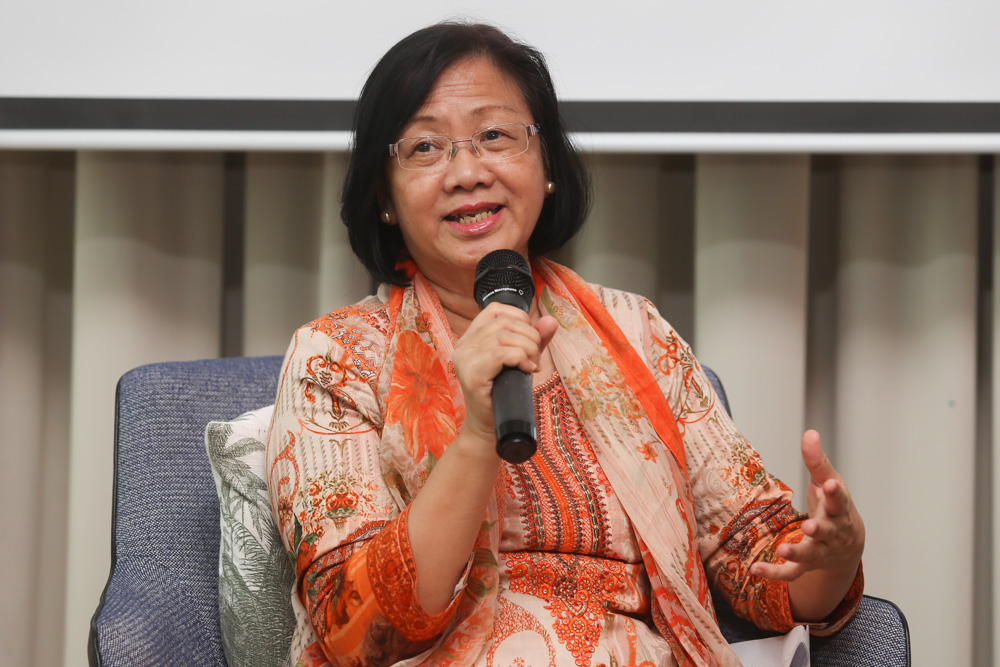 Maria said the ruling party should not expect to be given carte blanche to spend as it saw fit. — Picture by Choo Choy May
