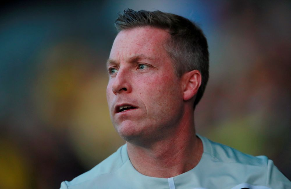 Millwall manager Neil Harris before their Carabao Cup Second Round match against Oxford United in Kassam Stadium, Oxford, August 27, 2019. — Action Images via Reuters