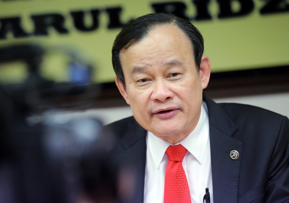 Former Perak Speaker Datuk Ngeh Koo Ham cited reports claiming that so-called 'PH Plus' alliance have secured enough lawmakers to take over the federal government. ― Picture by Farhan Najib