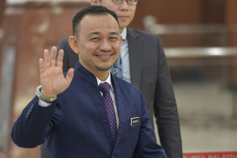 Bersatu Supreme Council member Maszlee Malik painted a bleak outlook for his party. — Picture by Shafwan Zaidon