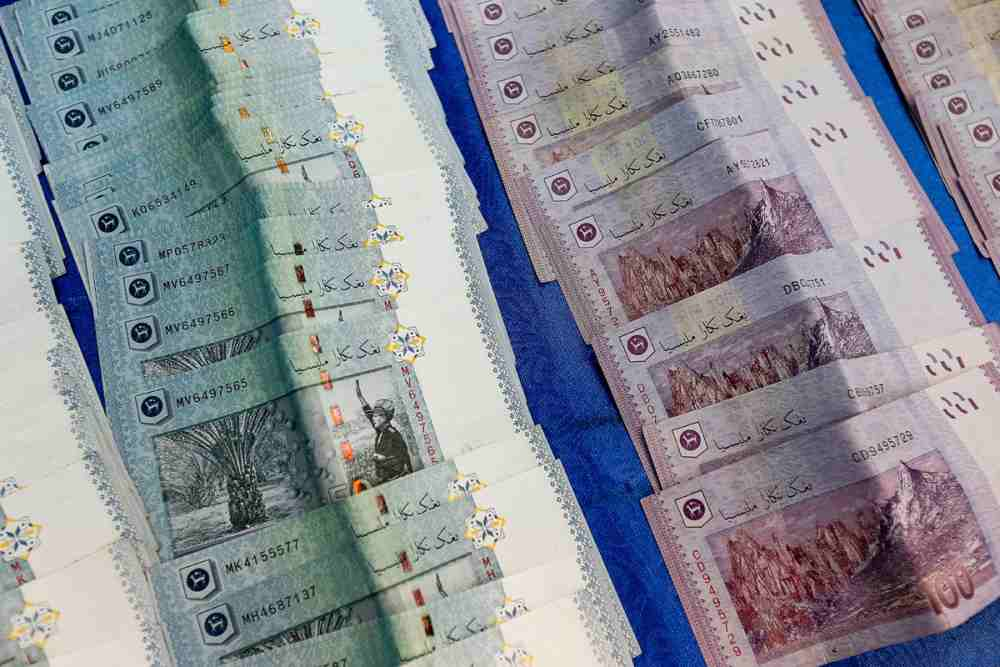 RM50 and RM100 notes are seen in George Town November 27, 2019. ― Picture by Sayuti Zainudin