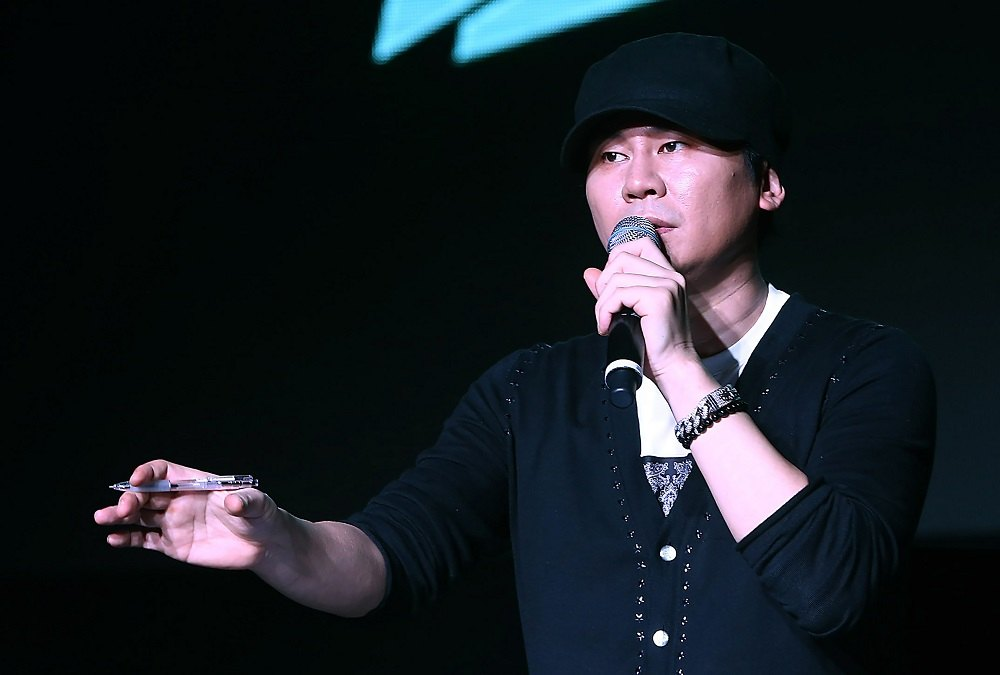 Korean music mogul Yang Hyun Suk is off the hook for mediation of prostitution services. ― Yonhap/AFP pic