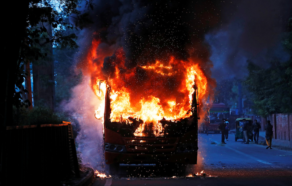 Deaths and significant property damage occurred during the protests. — Reuters pic