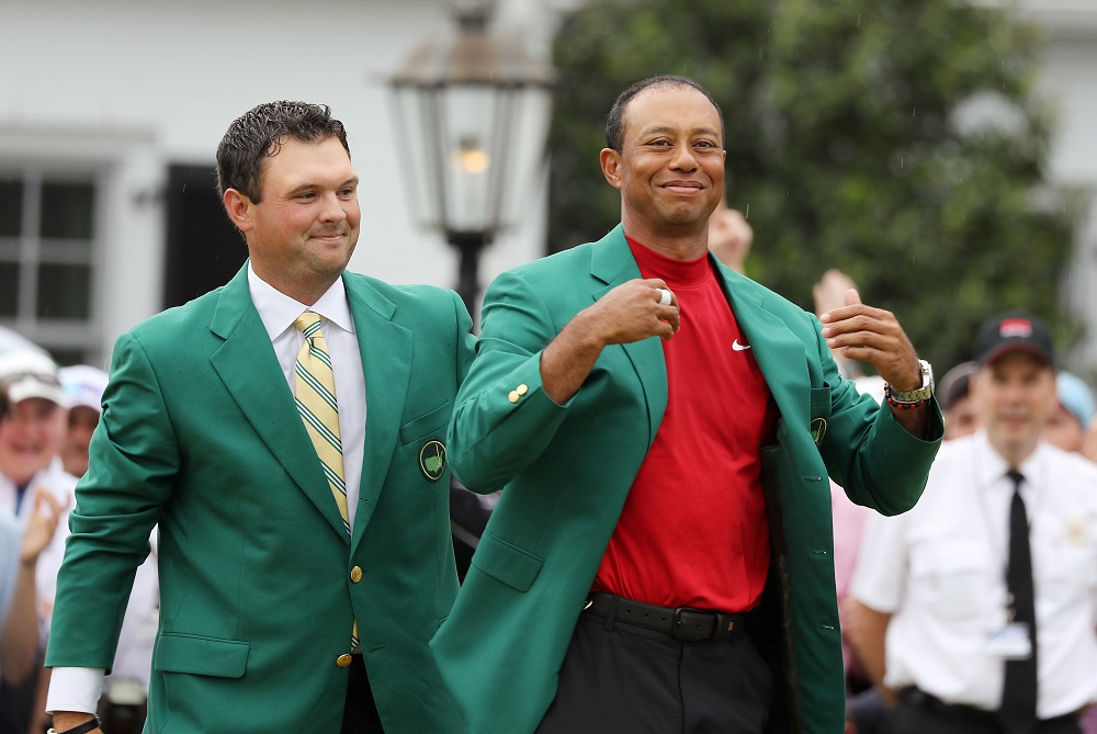 File photo showing Patrick Reed and Tiger Woods at the 2019 Masters in Augusta November 13, 2019. — Reuters pic