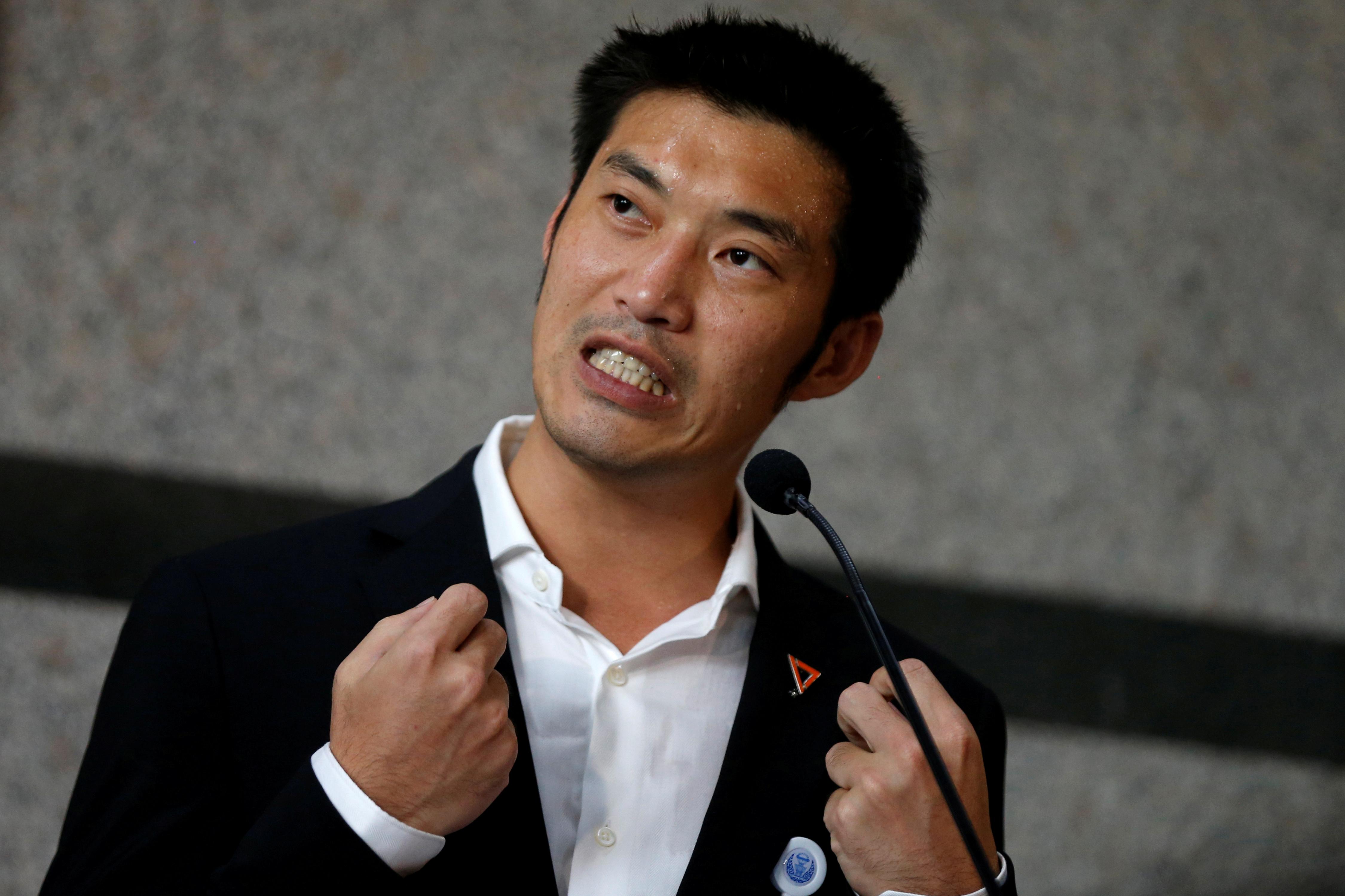 41岁塔纳通带领未来前进党在3月的大选中,成为第三大党,他不时公开批评政府。-路透社-