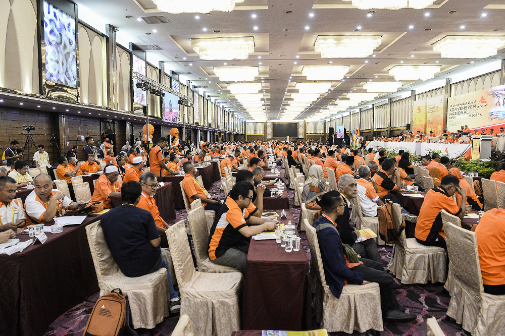 Delegates attend the 2019 Parti Amanah Negara National Convention in Shah Alam on December 6, 2019. ― Picture by Miera Zulyana