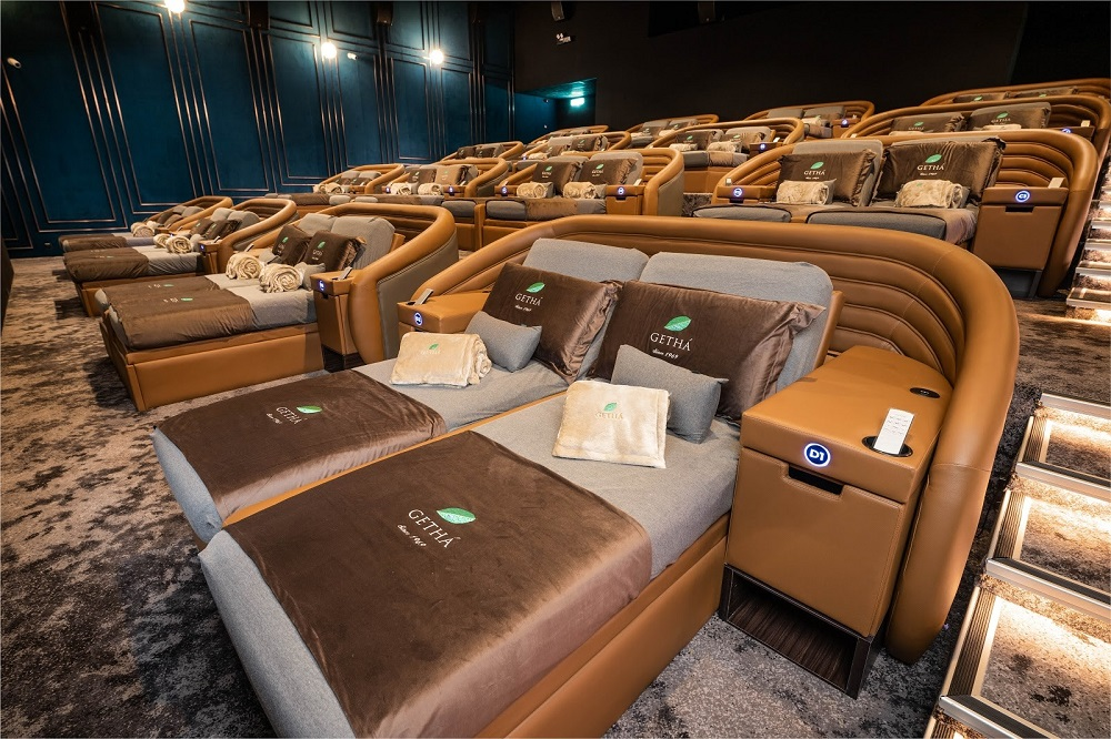 The Getha Lux Suites hall brings with it a luxurious sense of comfort, as the cosy seats are perfect to lay back in and enjoy a movie. — Picture courtesy of Golden Screen Cinemas