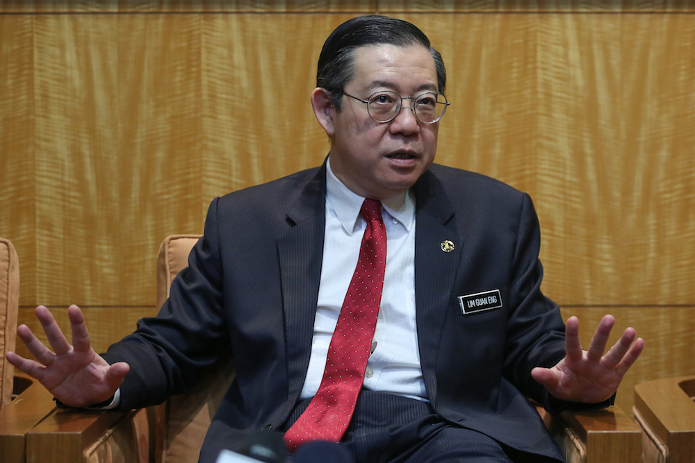 Lim said the ministry disbursed RM22.3 billion in subsidies and welfare aid in 2019 and would increase the allocation to RM24.2 billion in 2020. — Picture by Yusof Mat Isa