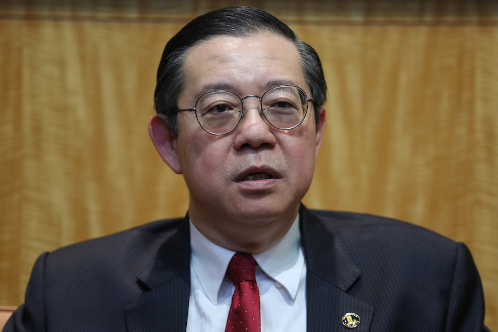Finance Minister Lim Guan Eng says the decision is not solely under his ministry as reportedly previously as the final approval will be made collectively by Cabinet members. — Picture by Yusof Mat Isa