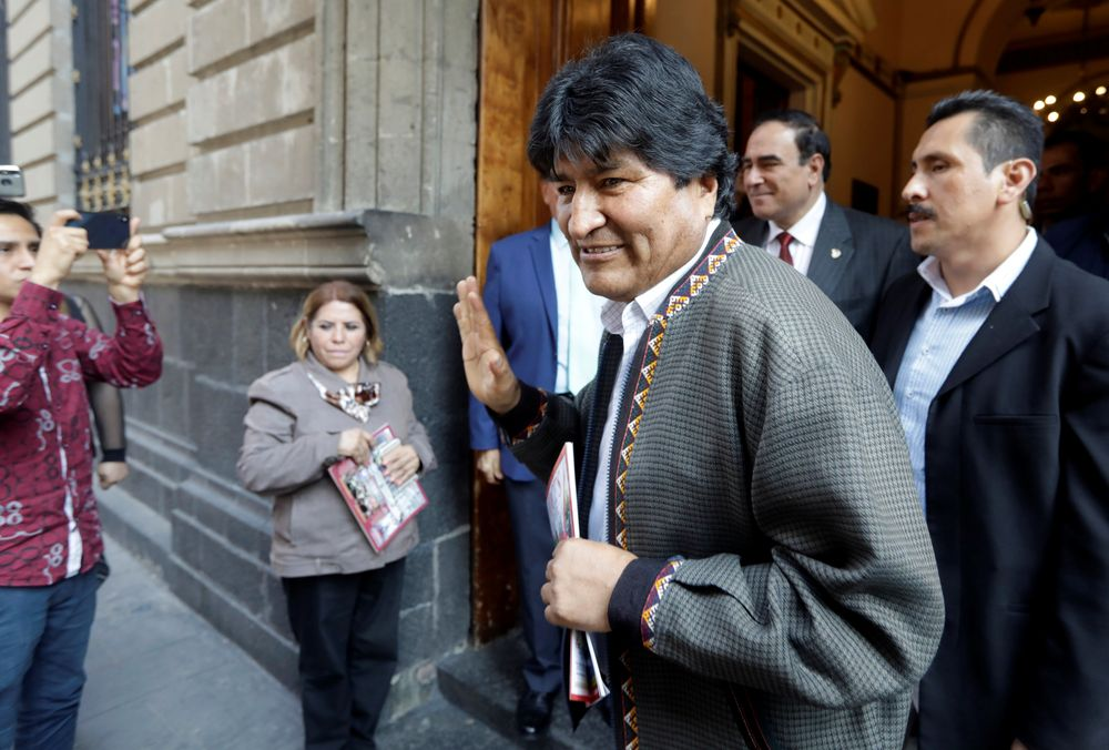 Morales fled Bolivia for Argentina last month after civil unrest broke out following his controversial re-election in an October 20 poll widely denounced as rigged. — Reuters pic