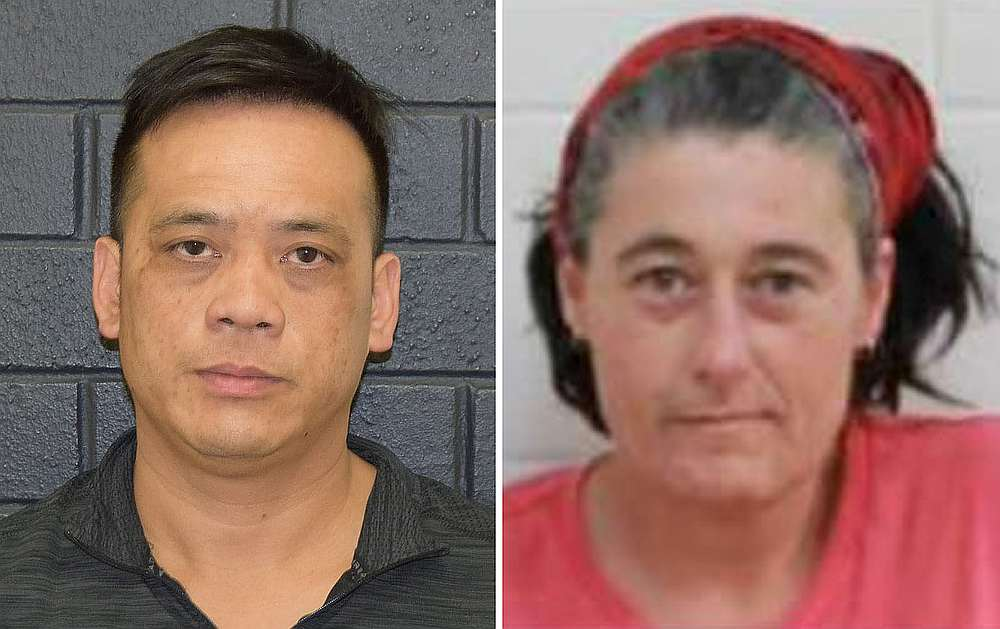 Undated combination image of Phu Tran (left) and Claire Hockridge, after they went missing in a remote area south of Alice Springs, supplied December 2, 2019. — AAP Image/NT Police image via Reuters