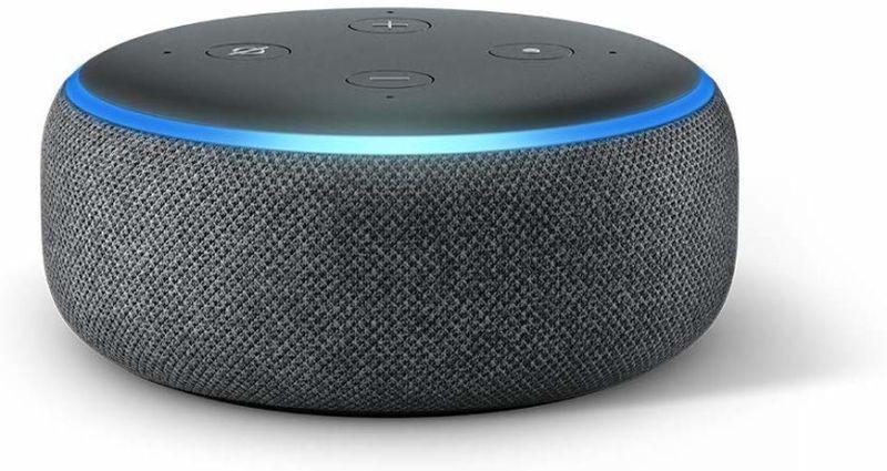 The Amazon Echo Dot retails at US$49.99 on Amazon. ― Picture courtesy of Amazon via AFP