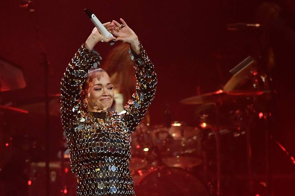 Singer Rita Ora one of more than 700 figures from Britain's music world who are united to 'wipe out racism'. — TT News Agency/Erik Simander pic via Reuters