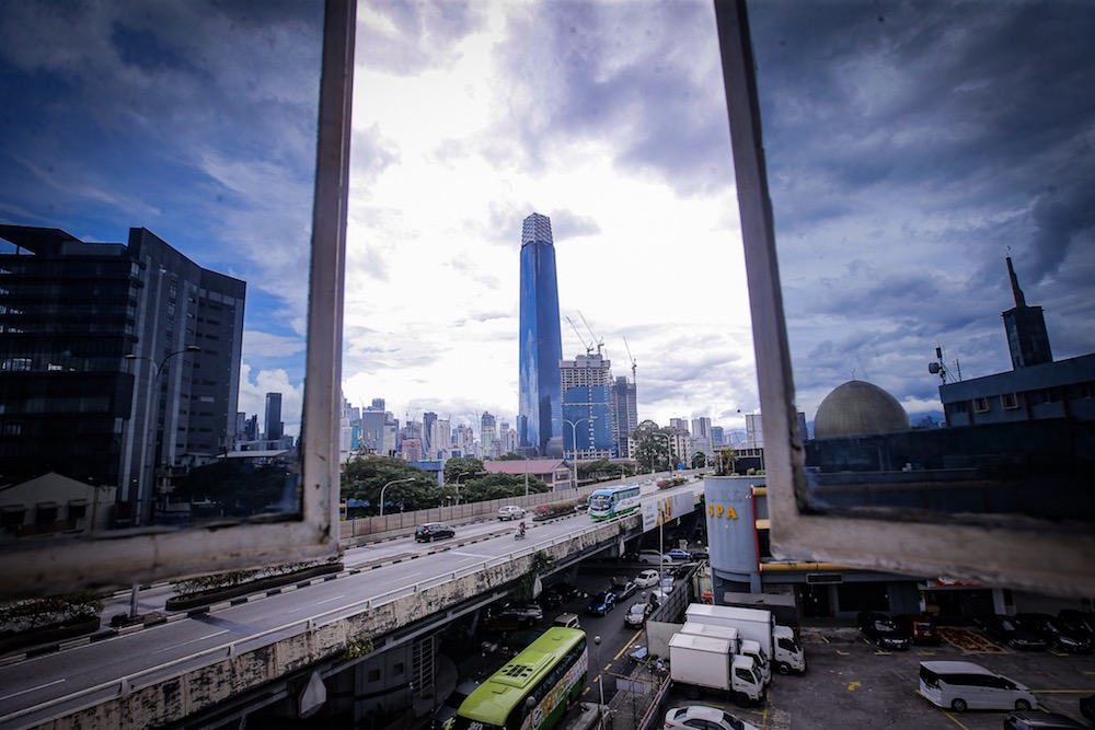 General view of The Exchange 106 in Kuala Lumpur December 8, 2019. — Picture by Hari Anggara