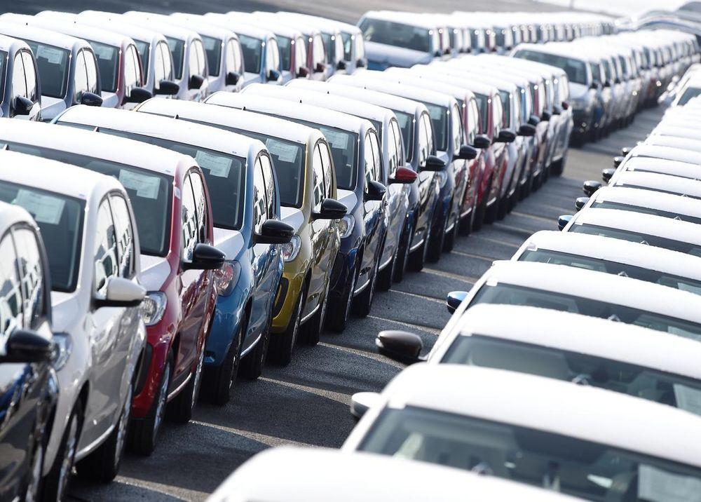 Volkswagen export cars are seen in the port of Emden March 9, 2018. — Reuters pic
