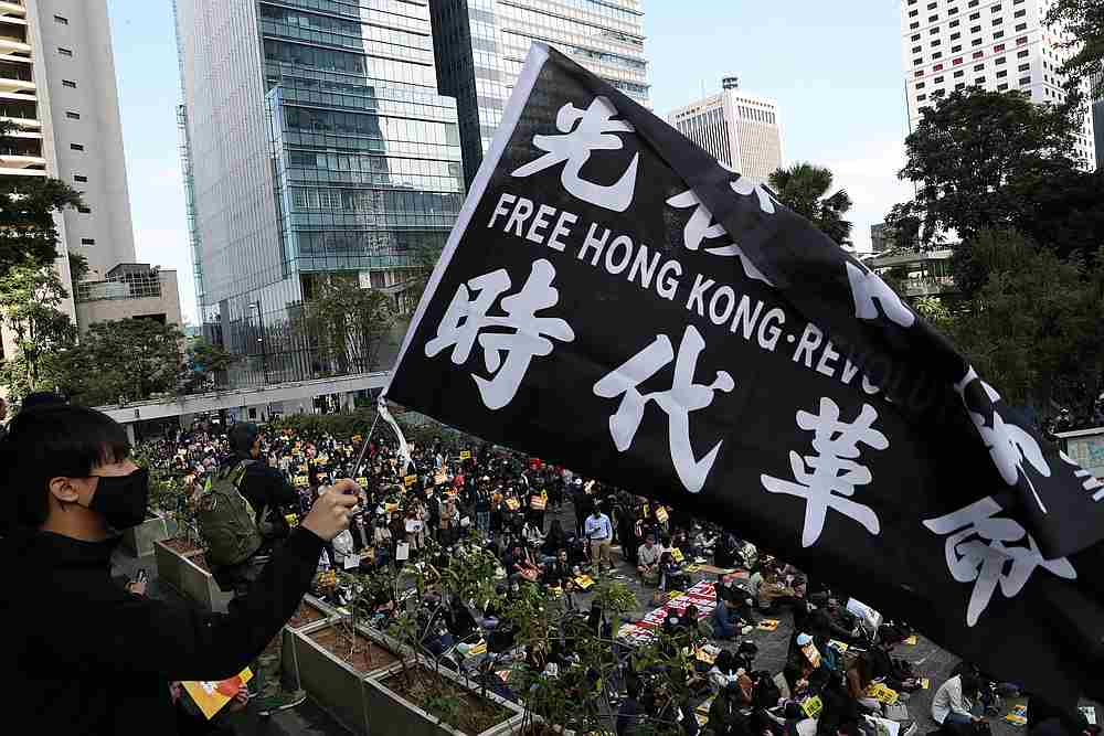 Anti-government protests have roiled the financial hub for more than six months, with protesters angry over what they see as Chinese meddling in the freedoms promised to the former British colony when it returned to Chinese rule in 1997. — Reuters pic