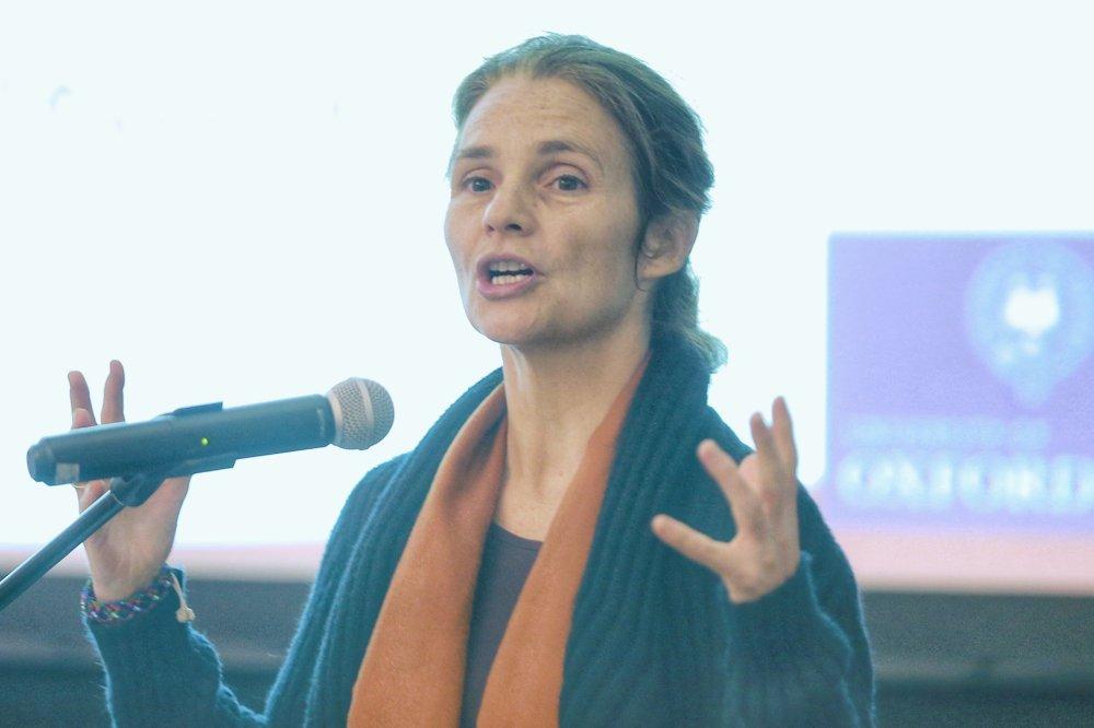 Oxford University's Poverty and Human Development Initiative director Sabina Alkire speaks during the UNDP Human Development Report 2019 in Kuala Lumpur December 17, 2019. ― Picture by Ahmad Zamzahuri