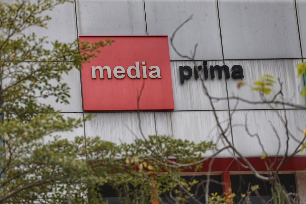 Media Prima said the group's revenue recorded a marginal growth following the gradual resumption of economic activities in Malaysia after the relaxation of the movement control order. — Picture by Ahmad Zamzahuri