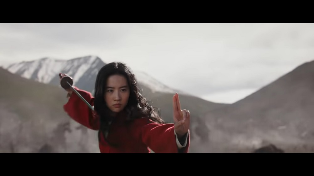 A screengrab from Disney's live-action 'Mulan' that stars Liu Yifei, Jet Li, Donnie Yen, Gong Li and Jason Scott Lee among others.