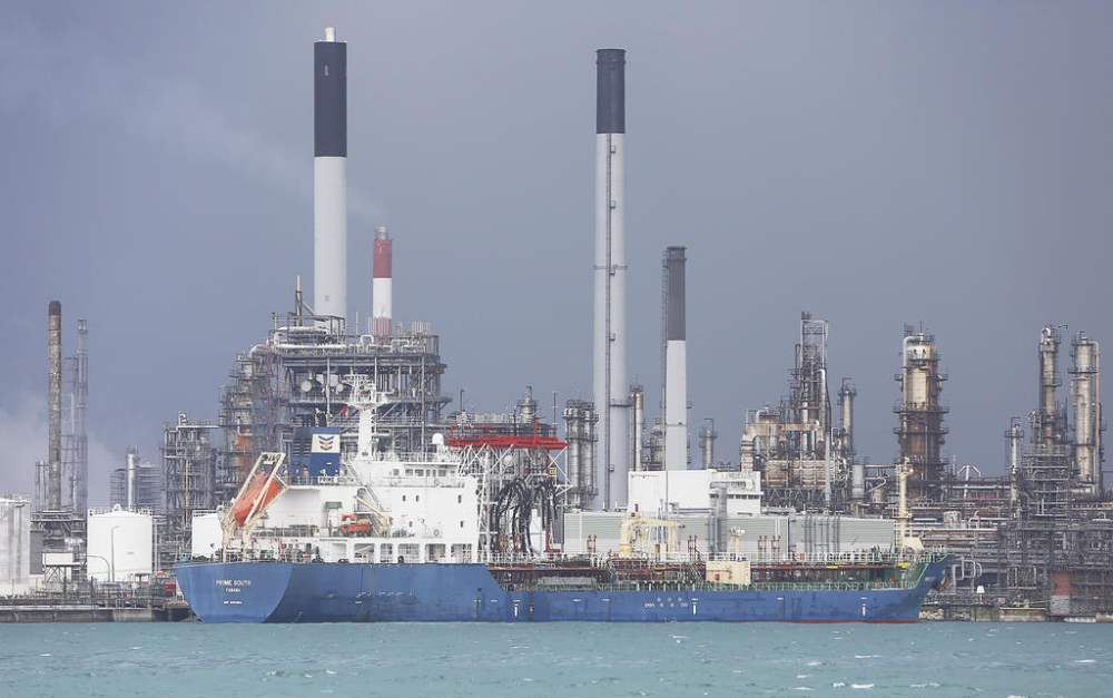 The Prime South, the vessel used in the fuel heist. ― TODAY file pic