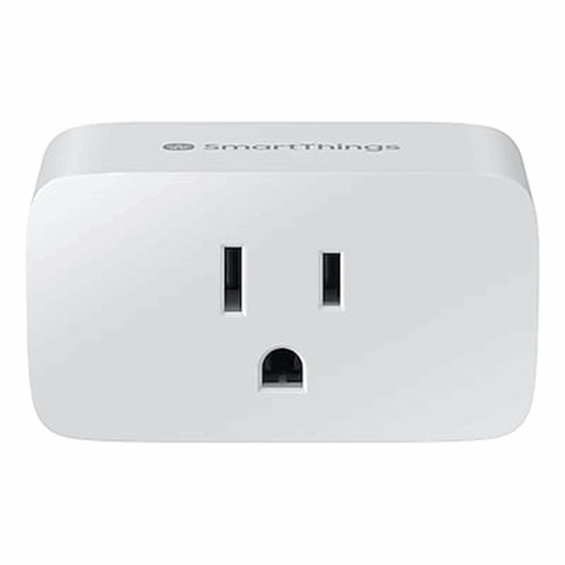 The Samsung SmartThings Wifi Smart Plug retails at US$17.00 from Samsung. ― Picture courtesy of Samsung via AFP
