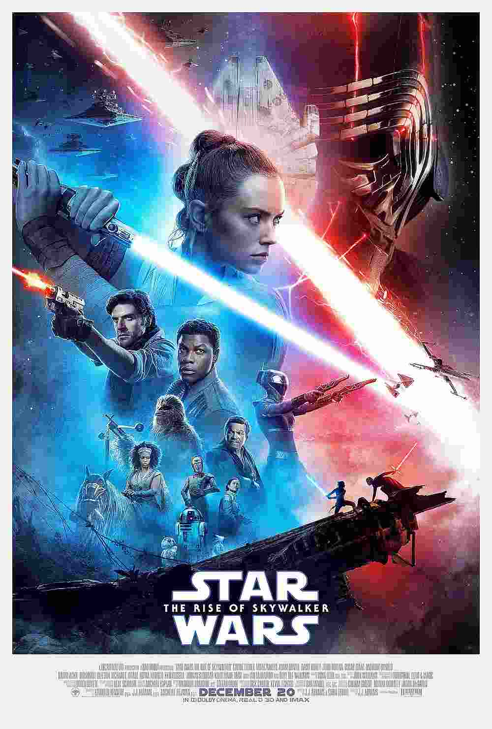 'Star Wars: The Rise of Skywalker' opensd with a estimated take of US$175.5 million in North America, according to an industry watcher. — Image courtesy of Walt Disney Studios Motion Pictures/Lucasfilm