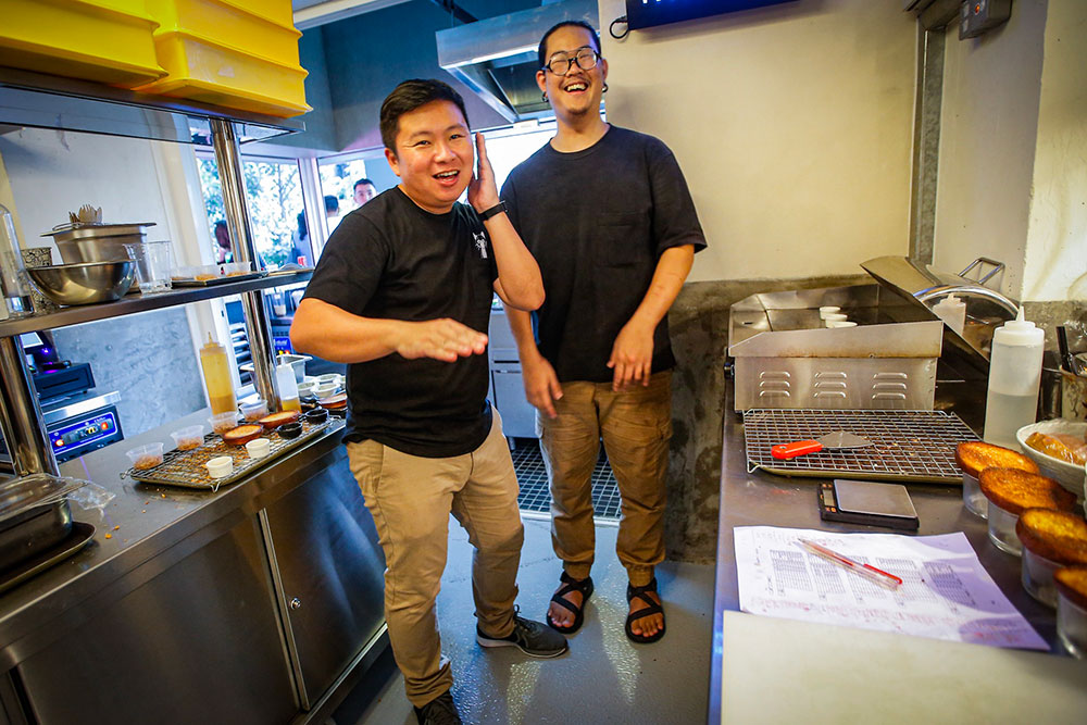 The inaugural Taste of Tiffin pop-up that featured Buns Meat & Cheese by Homeburg's Taiki Rattanapong Tsubota wouldn't have happened without myBurgerLab's Renyi Chin.