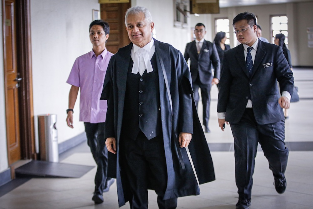 Attorney General Tan Sri Tommy Thomas said the reopening of the case was for the purpose of police reinvestigation. — Picture by Hari Anggara