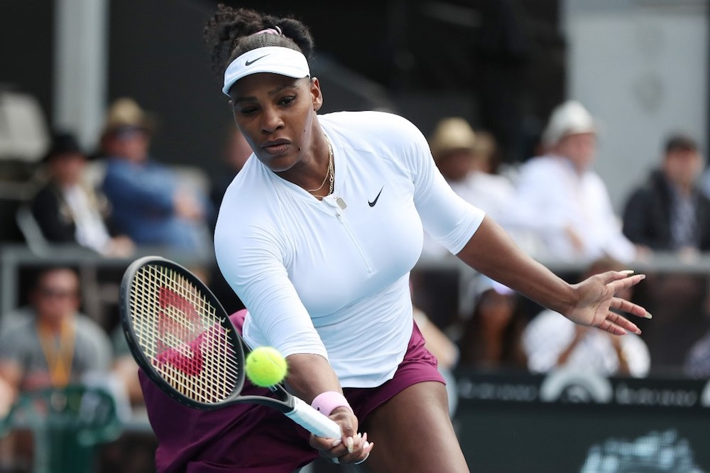 Williams last played for the US in February 2018 following the birth of her daughter. — AFP pic