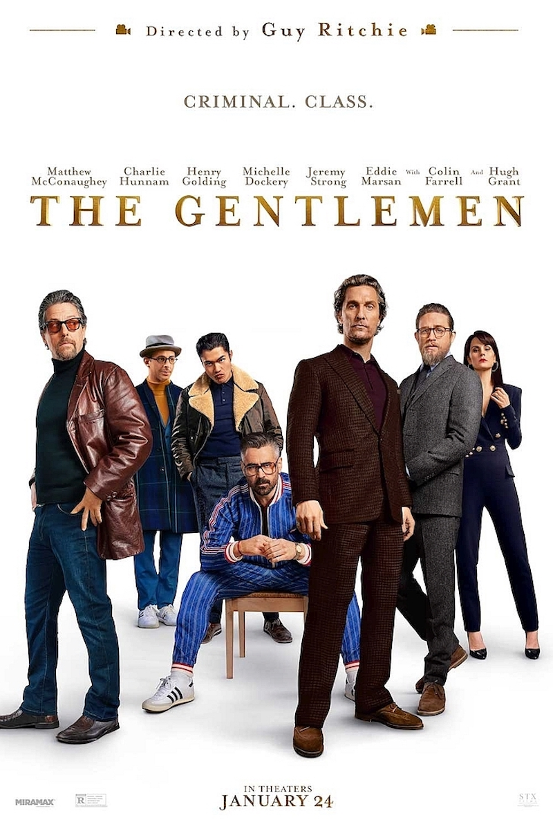 'The Gentlemen' is a return to the gangster genre for Guy Ritchie after 'RocknRolla' in 2008. — Picture courtesy of STX Entertainment