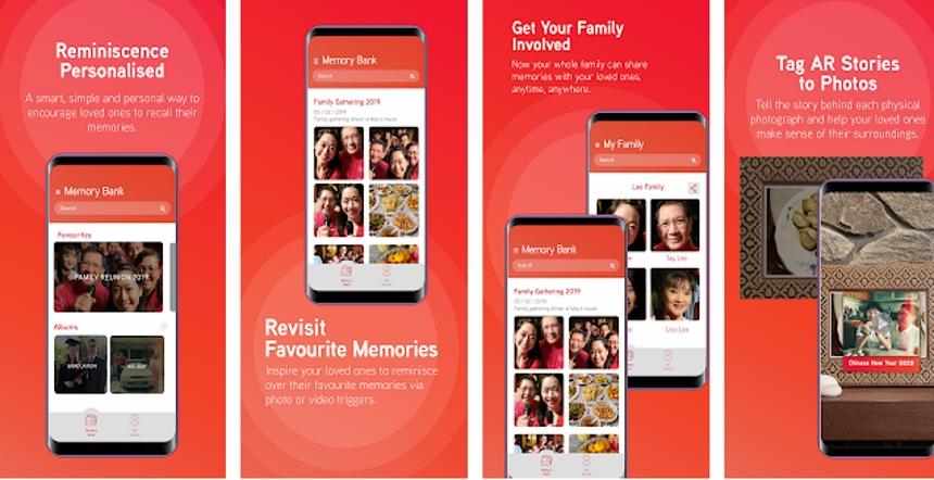 Maxis近日推出RE: Collection手机应用程式,目的是要帮助失智症患者能够更快认识及回想起周遭人事物或是他们喜欢的时光。-图取自Apple App Store网站-