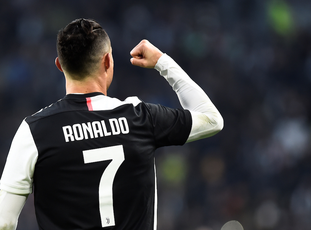 Ronaldo inspired Juventus to a 3-1 win over AS Roma in the Coppa Italia quarter-final. — Reuters pic