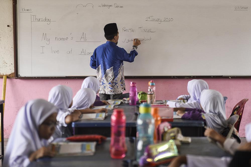 希盟认为,教育课题,与卫生、国家安全及经济课题一样重要,必须带到来临的国会中讨论。 -Miera Zulyana摄-