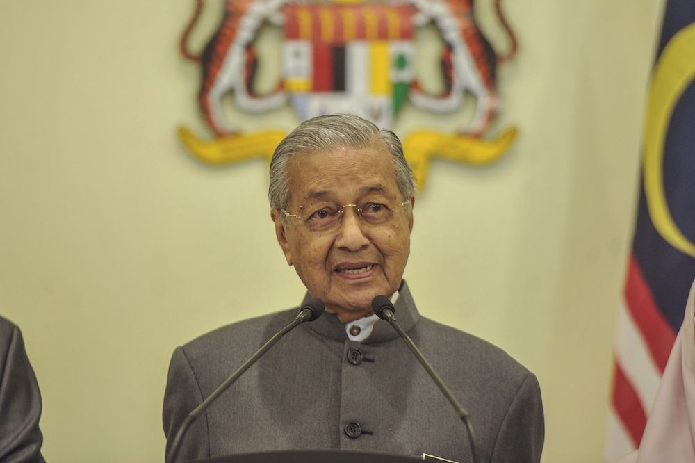 UPSI supports Prime Minister Tun Dr Mahathir Mohamad's intention to consider having two education ministries once again, comprising the Education Ministry and the Higher Education Ministry. — Picture by Shafwan Zaidon