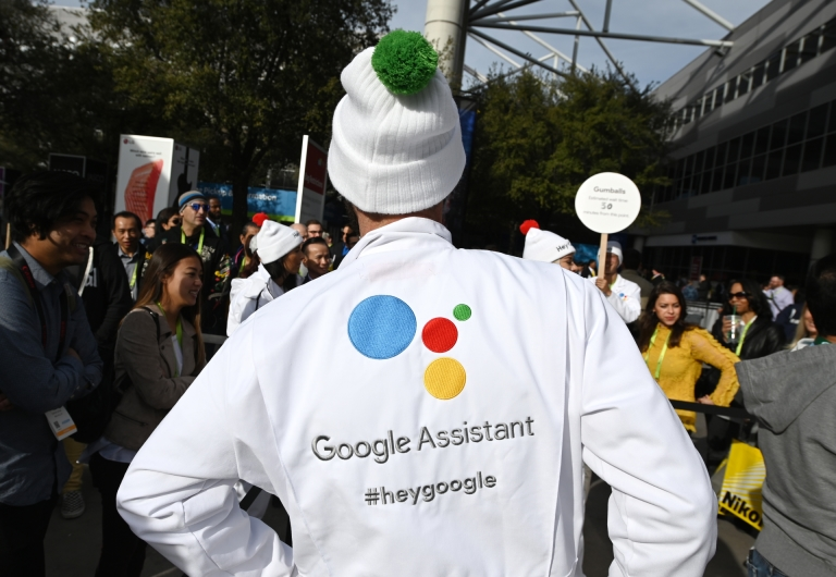 Google is giving CES visitors a sneak peek as to how the Assistant will evolve. — AFP pic