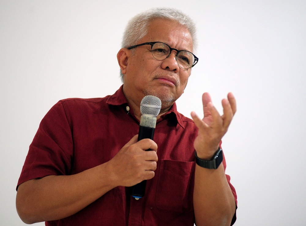 Datuk Hussamuddin Yaacub said he hoped the campaign could address all manner of corruptionBernama pic