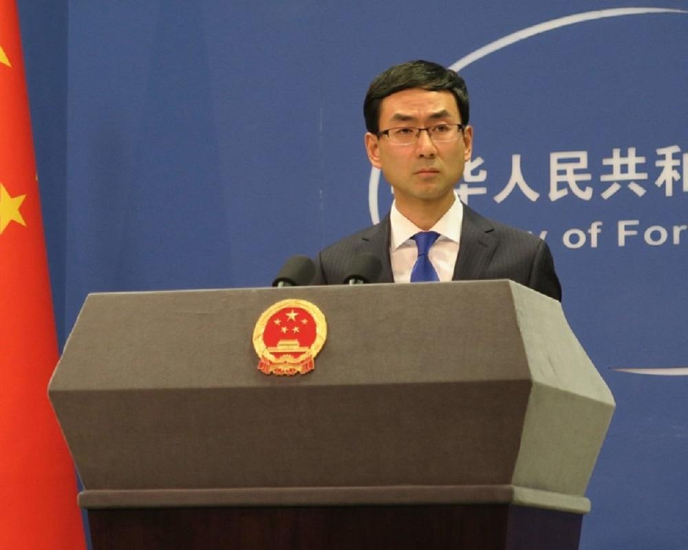 耿爽表示,中方希望并相信国际社会将继续坚持一个中国原则。-档案照-