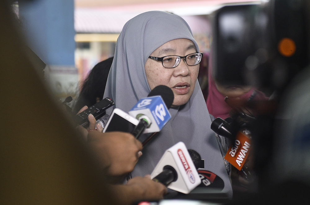 Education director-general Datuk Habibah Abdul Rahim says a transition programme will be implemented this year to see students' readiness and prepare them for entry into the following year. — Picture by Miera Zulyana