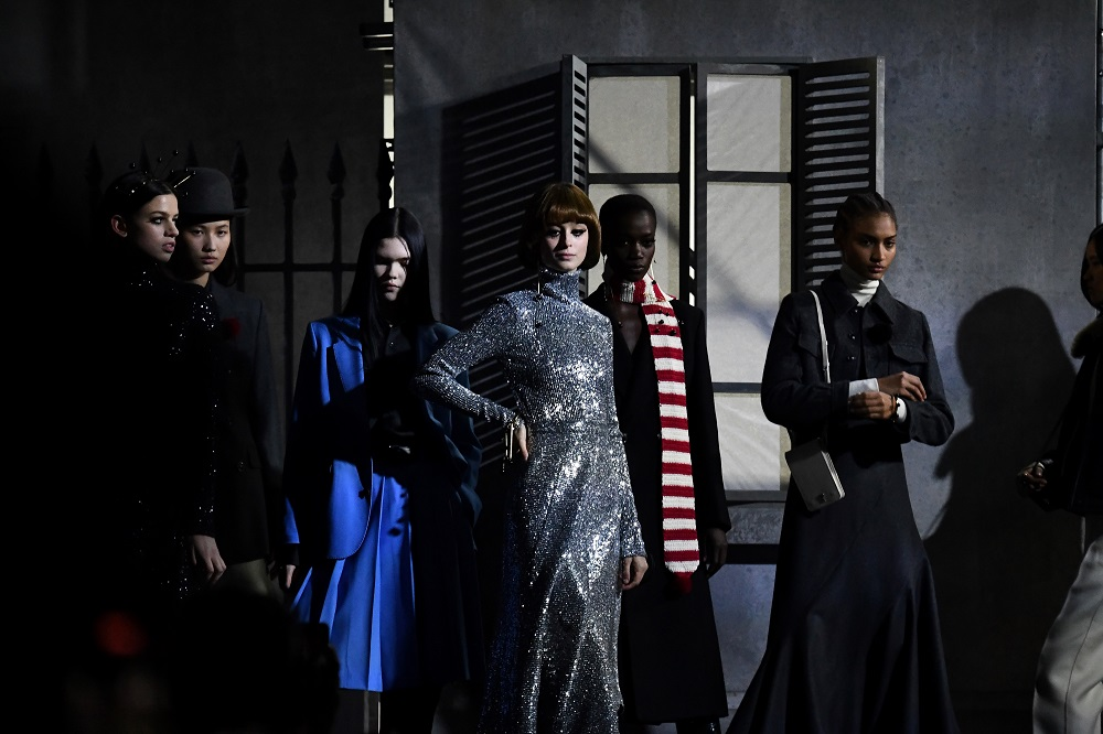 Models present creations for AMI by Alexandre Mattiussi during the men's Fall/Winter 2020/2021 collection fashion shows in Paris January 14, 2020. — AFP pic