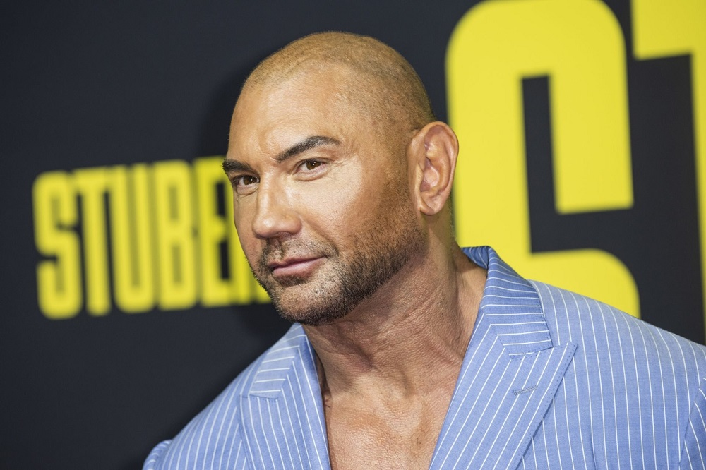 Dave Bautista has played the role of Drax ever since the first instalment of the 'Guardians of the Galaxy' saga released in 2014. — AFP pic