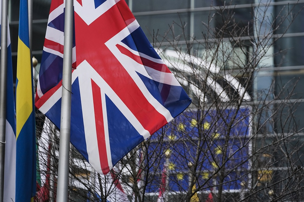 Unless Britain strikes a trade deal with the EU in the next 10 weeks — a negotiation which currently hangs in the balance — those imports will be subject to six per cent tariffs under World Trade Organisation terms. — AFP pic