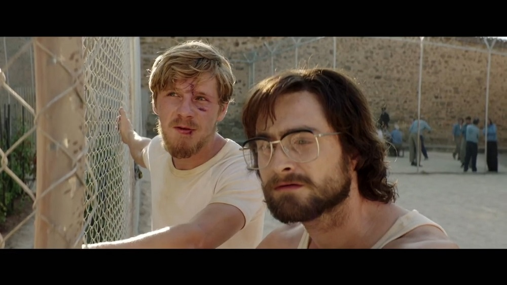 A screengrab from 'Escape from Pretoria' that stars Daniel Radcliffe and Daniel Webber among others.