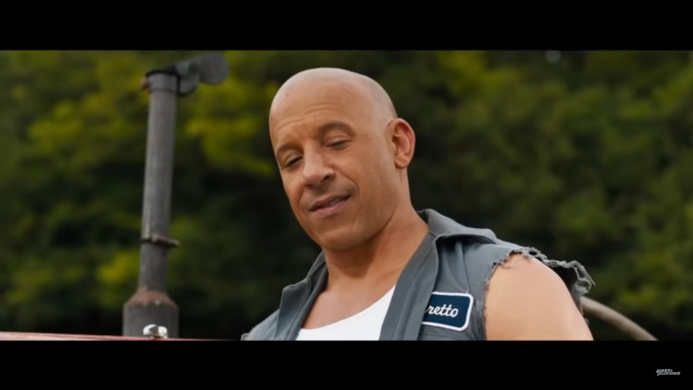 A screengrab from 'F9' that sees the return of Vin Diesel, Michelle Rodriguez, Jordana Brewster and Tyrese Gibson among others to the 'Fast and Furious' franchise.