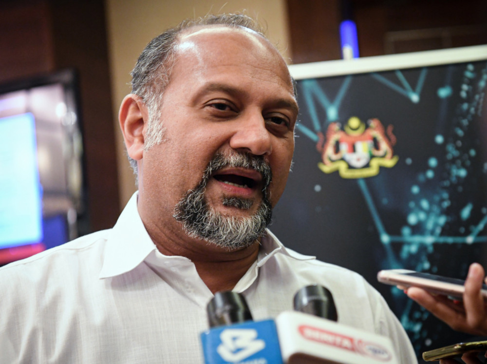 Communications and Multimedia Minister Gobind Singh Deo said all parties needed to be cautious. — Bernama pic