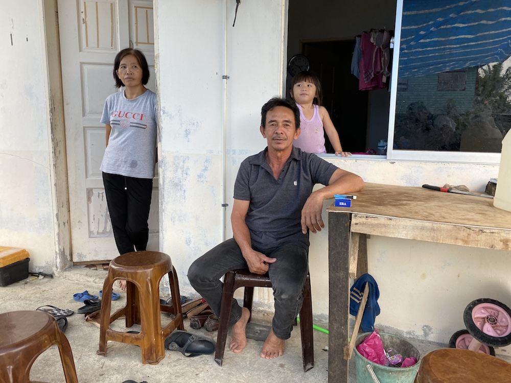 Jinori Mikil of Kampung Tahak said he felt overlooked by the current government and feels it should look into more welfare aid and deal with illegal immigration for the future generation. — Picture by Julia Chan